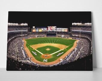 Yankee Stadium Limited Edition 24x36 Poster   Yankee Stadium Canvas