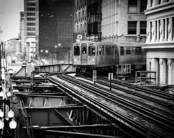 CTA Brown Line, Chicago IL