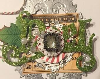 Christmas Noel Ornament