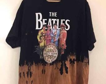 The Beatles Bleached T-shirt