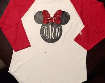 Minnie Mouse Monogram Shirt