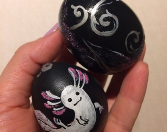 SET of 2 Easter Eggs.