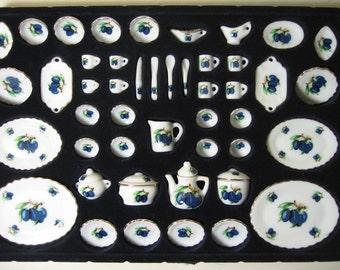 Miniature Olive Dinner &Tea set-46pcs