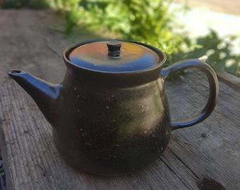 Temoku teapot