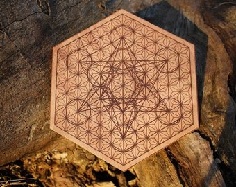 Metatron's cube / Asanoha - Crystal Grid