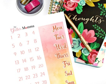 Bold & Bright | Date Covers | Erin Condren Life Planner Vertical