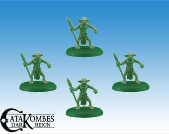 4 miniatures of Goblin