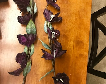 Eggplant Artificial Flowers