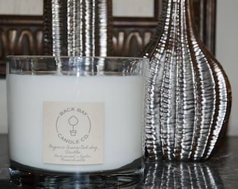 Soy wax candles, large 32oz double wick Candle, Scented Soy wax Candles Handmade, Aromatherapy Candles, housewarming gift, wedding gifts,