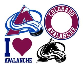 Colorado Avalanche Cut Files, Colorado Avalanche SVG Files, Colorado Avalanche SVG, Colorado Avalanche SVG Cutting File, Instant Download