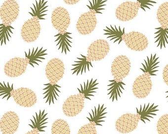 Girl Charlee White Pineapple Knit