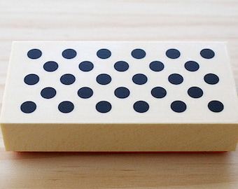 CLEARANCE SALE - Rubber stamp - Polka dots - Atype