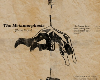 Poster for The Metamorphosis by Franz Kafka