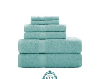 2 Hand Towel Personalized Bathroom Set (2 Hand Towels)