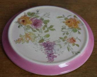 Antique Franz Anton Mehlem Royal Bonn Ceramic Trivet