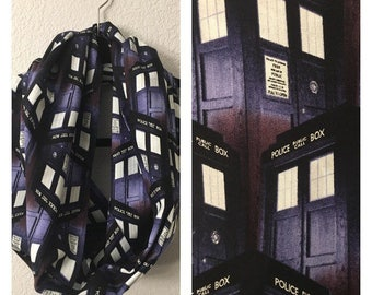 Doctor Who Infinity Scarf