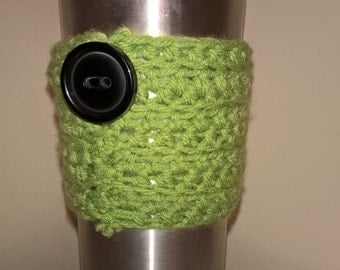 coffee cup sleeve/cozy disposable coffee cup, hot, cold, organic, environmental friendly