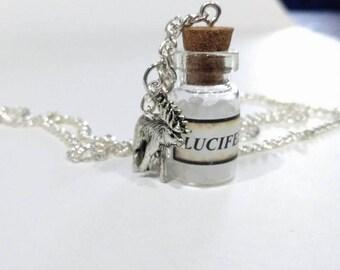 Sam Winchester Themed Bottle Charm