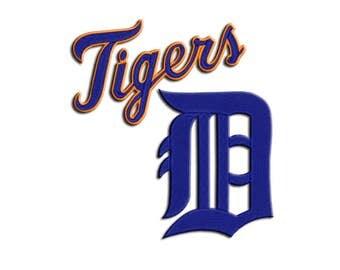 Tigers embroidery design - Machine embroidery design