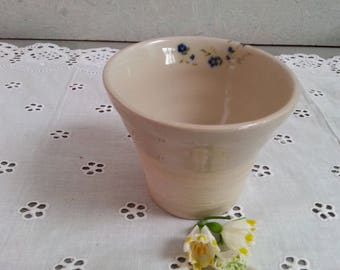 Ceramic mug forget-me-not