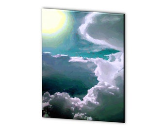 "Limited Edition ""Cloud Nine"" - Blue Ribbon Winner - Artistic Photography Canvas Print - 10% of Proceeds for Charity"