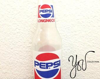 Vintage Pepsi 12oz Longneck, glass bottle. I FREE SHIPPING