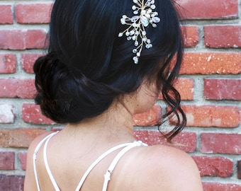 Bridal gold headband,wedding headband,bridal accessory,hair jewelry, gold hair jewelry,headband,bridal,wedding