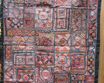 Beautiful patchwork of the India