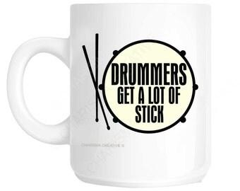 Drummers Novelty Fun Mug CH138