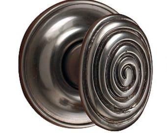 Spiral Cabinet Knob Pair