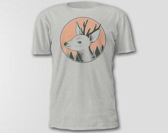 Deer Heads, Hipster Toddler Clothes, Deer Head Shirts, Wild Baby Clothes, Deer Clothes, Woodland Clothes, Baby Deer Clothes, Gifts for Kids