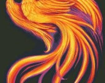 Cross Stitch Pattern Phoenix PDF
