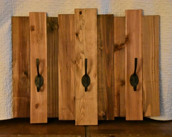 Large Plank Coat Rack