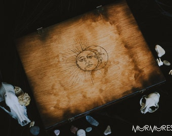 Wooden Ouija Board with gift box spiritual talking board wood custom made