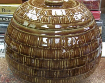 Bee Skep/Hive Cook Jar