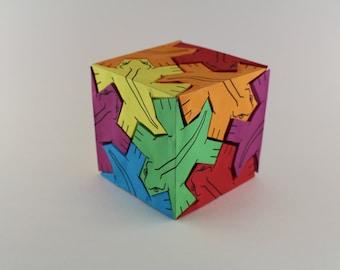 M.C. Escher Cube
