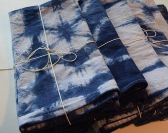 Hand-Dyed Dish Towels (Set of 2)