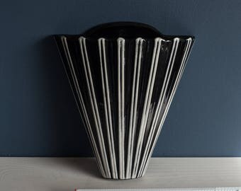 Ceramic Wall Pocket Vase