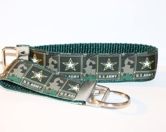 """US ARMY Key Fob Rings in Minis and 10"""""""