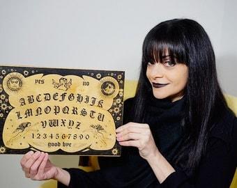 The Witchboard - Mini Version - Haunted House Movie Prop Ouija Talking Board Spiritual Aid