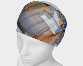 Wide Headband - Art Headband - Fabric Headband - Hair Accessories - Juice Box