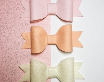 Spring Rainbow Bows (Pack of 3)
