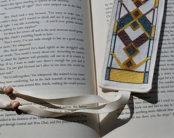 Arts and Crafts Style Book Mark #4