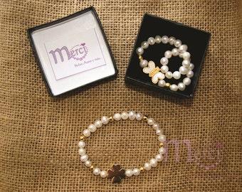 Fresh river pearls bracelet