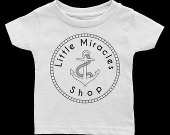 Anchor Baby Tee Shirt