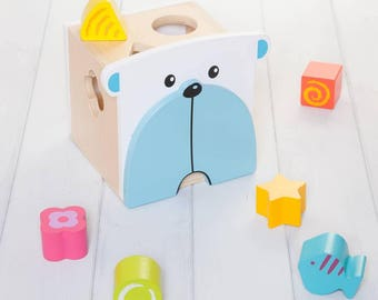 Bear Shape Sorter Toy