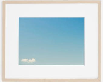 cloudspace, nature photography, sky print, minimalist photo, art print