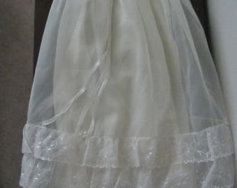 Christening Gown - Cream Colour