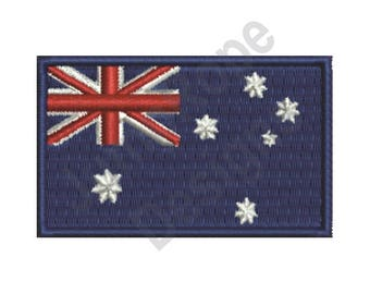 Australian Flag - Machine Embroidery Design