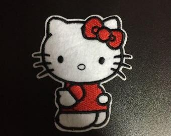 Hello Kitty, Hello Kitty Iron on Patches, 6.8x8cm size